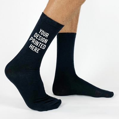Custom Printed and Personalized Socks by the Pair   sockprints